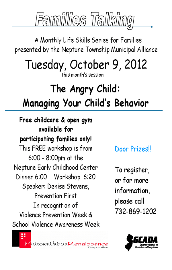 families talking: the angry child