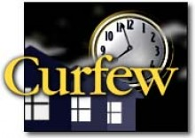 picture of clock for curfew